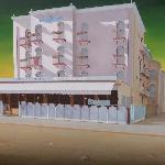 L'hotel dipinto da Ugo Pasini