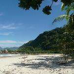 1ere vue sur la plage