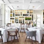 El comedor del restaurante Enoteca, en el Hotel Arts Barcelona