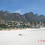 View from Camps Bay Beach