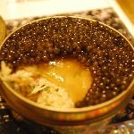 Caviar in 3 layers
