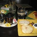Petit déjeuné Front porche café