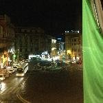View from Room 104, Hotel Bristol, Roma