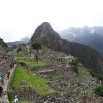 At the Machu Picchu, looking the Wanapicchu Oct. 2012