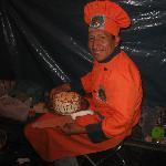 Eugenio, Auqui Perù chef at work