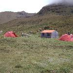 A camping site on the Vilcabamba trek