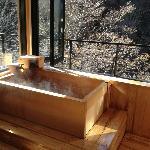 個室の露天風呂