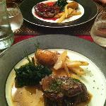 beef with fois gras and truffles
