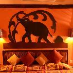 Elephant backdrop