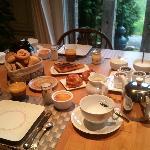 Petit-déjeuner gourmand au Clos Pasquier