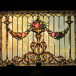 Stained glass in the Dining Room