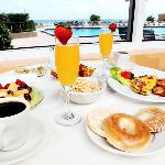 Ocean Terrace Breakfast Ocean View