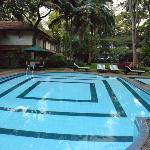Uma das piscinas do Hotel.
