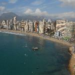 View of the Rincon end of Playa Levante