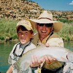 Great family fun fishing on the San Juan River