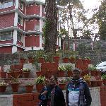 Mini Garden opposite to hotel entrance