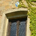 an old window of the Tuscany villa