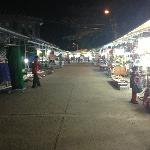 Night Market - 10 minutes walk away