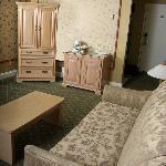 Suite - chambre et salon séparés
