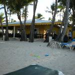 snack bar at the beach