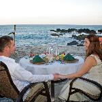 Romantic Beach Dining Experience