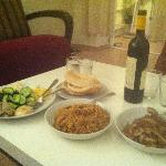 Shabbat dinner we cooked