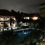 room balcony view to pool