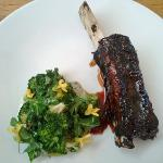Angus Short Rib Cooked Overnight, Charred Potato, Chestnut And Broccoli