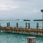 Parrot Cay dock