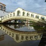 on the river in Melaka