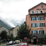 Just one of the beautiful buildings in Chamonix