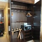 Closet with safe