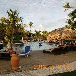 La piscine est idyllique, comme tout le reste