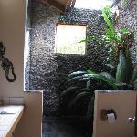 Outdoor shower - Room #44