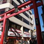 鎌倉駅のすぐそばが入り口