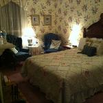 our beautiful room at The Rookwood Inn