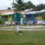 soccer field near the hotel