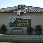 Outside Motel Aorangi