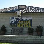 Outside Motel Aorangi