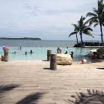 sherton villas infinity pool :)