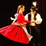 Hungarian Dancing couple