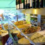 Salut Mediterranean Food Foto