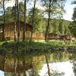Lodge Setting at Parkdean Tummel Valley Holiday Park