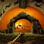 The amazing wood fire oven