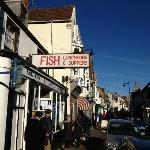 Near by Whitstable - Jones fish and Chips