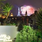 Roof Top Terrace on Bastille day