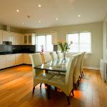 Two Bedroom Penthouse Apartment - Kitchen and Dining Table