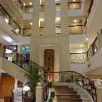 Imperial atrium staircase