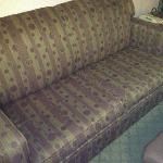 Tattered couch