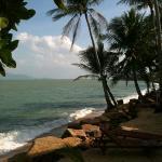 utsikt från vår bungalow